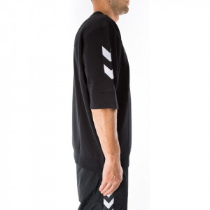 Hummel t shirt nera collaborazione HIVE