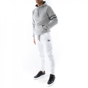 Hype pantalone di tuta bianco
