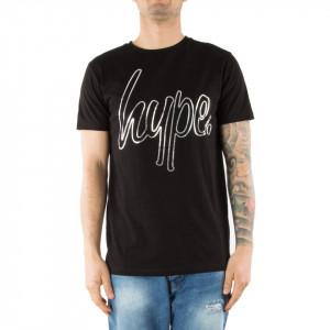 Hype tshirt girocollo nera logo Hype