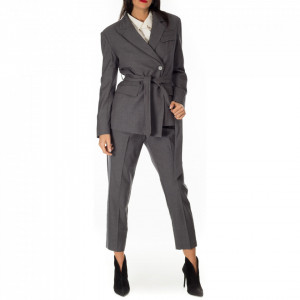 Isabelle Blanche gray blazer jacket