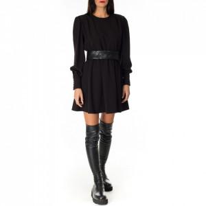 abito-corto-nero-donna