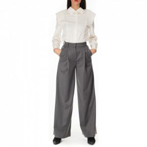 Jijil pantalone palazzo grigio
