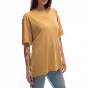 Jijil t-shirt over giallo ocra