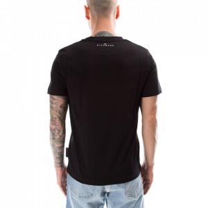 john-richmond-tshirt-nera-logo-rosso
