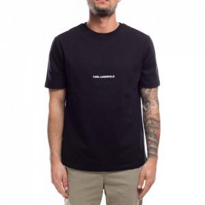 Karl Lagerfeld tshirt nera con logo