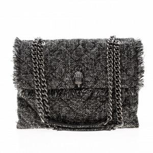 Kurt Geiger London quilted tweed bag