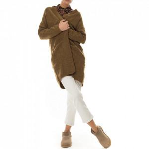 Minimum cardigan in lana verde