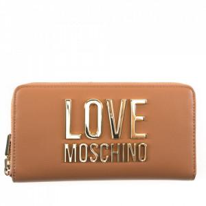 Moschino Love portafoglio cuoio con zip