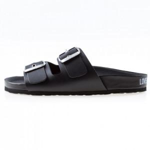 Moschino Love sandali con fibbie neri