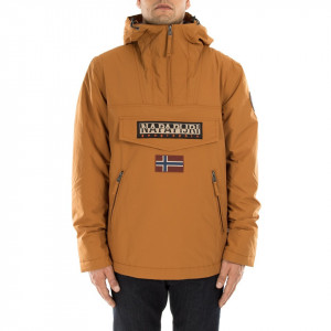 Napapijri rainforest pocket golden brown