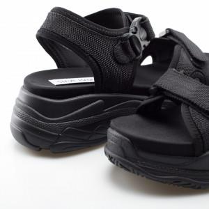 Steve Madden sandali platform neri