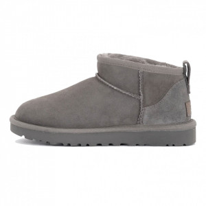 UGG ultra mini gray boots