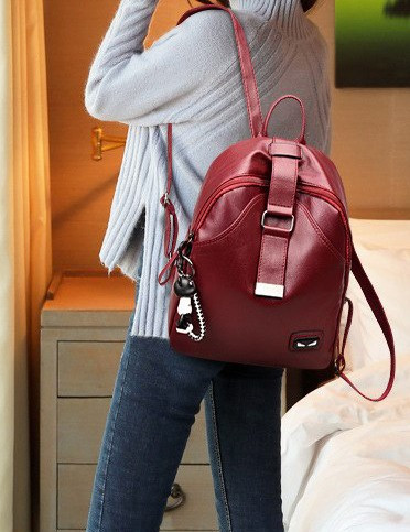 Rucsac La Loupe Teddy Red