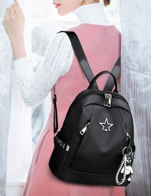 Rucsac Dama Star Teddy Black