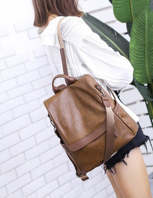 Rucsac Dama Convertible Ath Brown