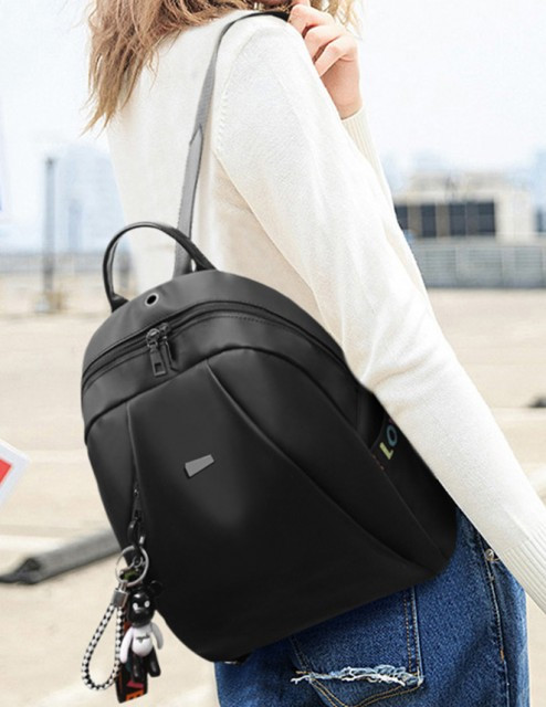 Rucsac Dama Oxford Black