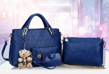 Poze Set Teddy Courtney Blue