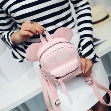 Poze Minirucsac Mickey Light Pink