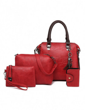 Set Genti Dama Hilltop Red