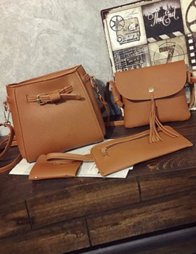 Set Genti Dama Miami Brown