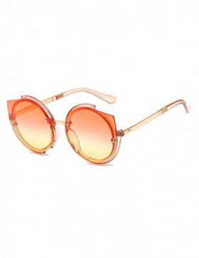 Ochelari de Soare Cat Eyes Dolo Orange Degrade