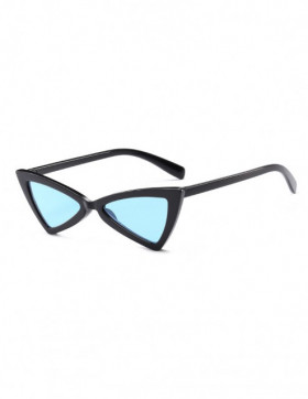 Ochelari de Soare Cat Eyes Treviso Black Blue Transparent
