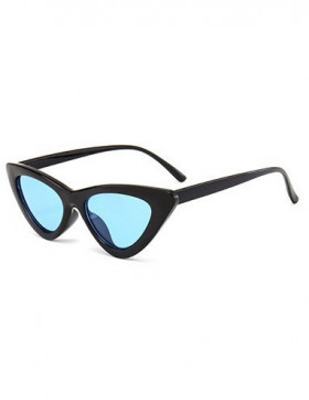 Ochelari de Soare Cat Eyes Venice Black - Blue Transparent