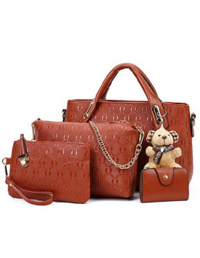 Set Genti Dama Teddy Courtney Brown
