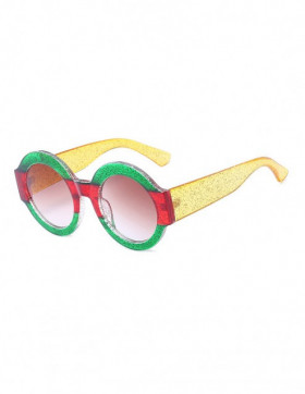 Ochelari de Soare Rotunzi Maximus Green-Red-Yellow Degrade