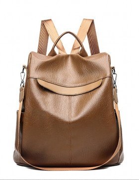Rucsac Dama Convertible Geneva Brown