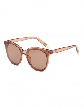 Ochelari de Soare Cat Eyes Clever BrownTransparent