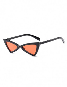 Ochelari de Soare Cat Eyes Treviso Black Orange Transparent