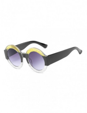 Ochelari de Soare Rotunzi Maximus Yellow-Black Degrade