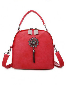 Rucsac Dama Convertible Bloom Red*