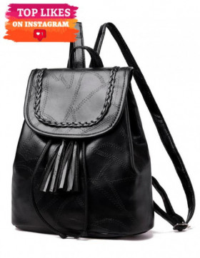Rucsac Dama Patch Black