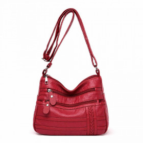 Geanta Dama Crossbody Cascade Red*