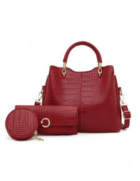 Set Genti Dama Walton Red*