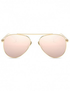 Ochelari de Soare Aviator Competitive Light Pink Mirror