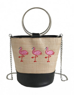 Geanta Flamingo Black