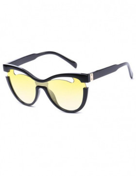 Ochelari de Soare Cat Eyes Civa Yellow Degrade