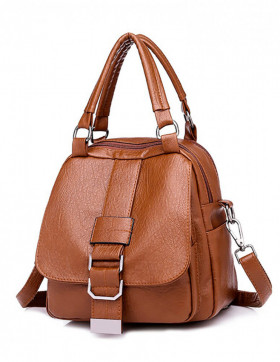 Rucsac Dama Convertible Cheu Brown*