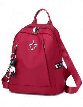 Rucsac Dama Star Teddy Red