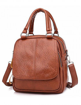 Rucsac Dama Convertible Peak Brown