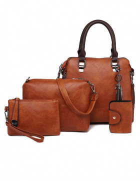 Set Genti Dama Hilltop Brown