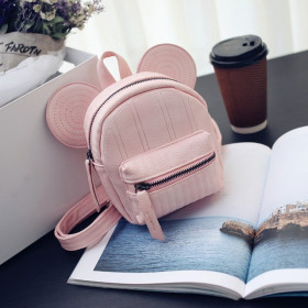 Minirucsac Mickey Light Pink