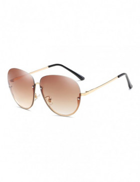 Ochelari de Soare Aviator Cheerful Brown Degrade