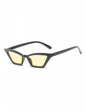 Ochelari de Soare Cat Eyes Trento Yellow Transparent