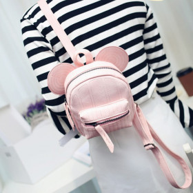 PRECOMANDA Minirucsac Mickey Light Pink