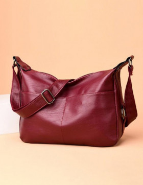 Geanta Dama Crossbody Buir Red*
