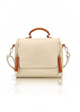 Geanta Dama Rome Light Beige*